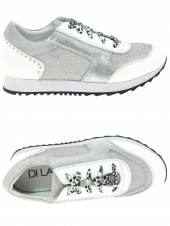chaussures plates di lauro s1819 blanc