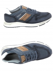 chaussures de style casual dockers 44wn002-307-660 bleu
