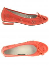 ballerines dorking d8119-sa rouge
