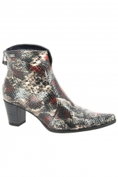 bottines de ville dorking d6034-re rouge