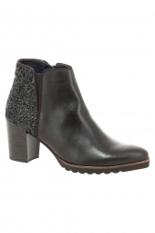 bottines de ville dorking d7224-suib marron