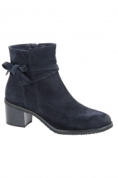 bottines de ville dorking d7335-ca bleu