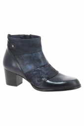 bottines de ville dorking d7625-sicom bleu