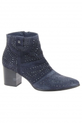 bottines de ville dorking d7699-ca bleu