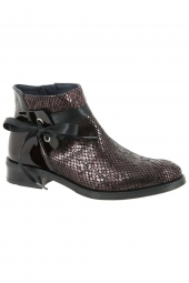 bottines de ville dorking d8004-kagl bordeaux