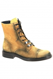 bottines fashion dorking d7668-ca jaune