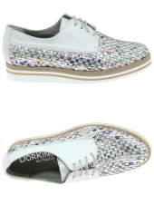 chaussures plates dorking 7852 argent