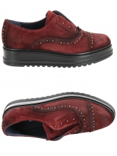 chaussures plates dorking d7958-ca rouge