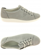 chaussures plates ecco 206503-02375 gris