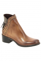 bottines fashion emanuele crasto 3039 marron