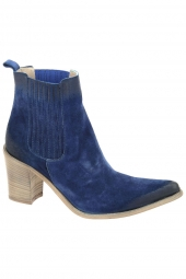 bottines fashion emanuele crasto 5013e bleu