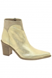 bottines fashion emanuele crasto 5017 or/bronze