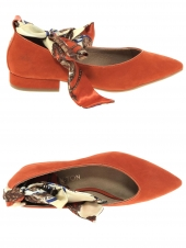 ballerines emilie karston kebec orange