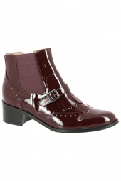 bottines emilie karston glefi bordeaux
