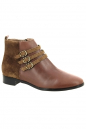 bottines emilie karston jompy marron