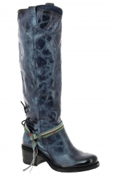 bottes fashion felmini b362-giani bleu