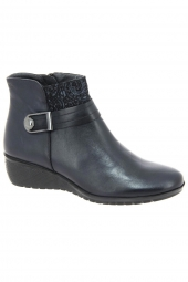 bottines casual fluchos f0379 bleu