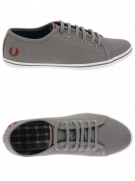 chaussures en toile fred perry