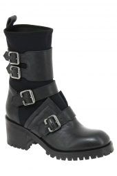 bottines fashion fru.it 4322-495 noir