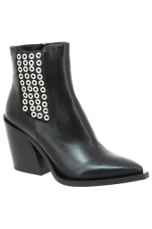 bottines fashion fru.it 4994-890 noir