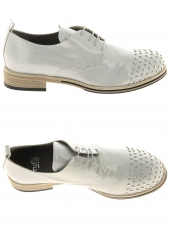 chaussures plates fru.it 4465-521 gris