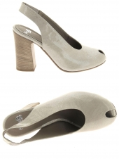 nu-pieds elegants fru.it 4686-940 gris
