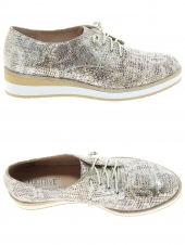 chaussures plates fugitive kety beige