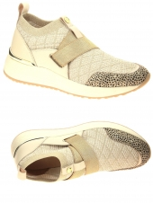 chaussures plates fugitive valy beige