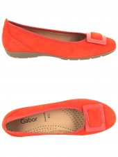 ballerines gabor 44.164-15 rouge