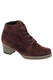 bottines casual gabor 96.660-38 bordeaux