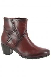 bottines de ville gabor 35.521-25 rouge