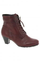 bottines de ville gabor 35.644-55 rouge