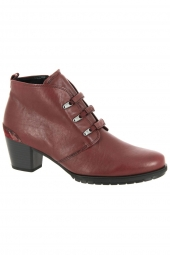 bottines de ville gabor 36.605-68 h rouge