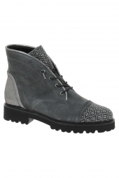 bottines fashion gabor 91.801-19 g gris