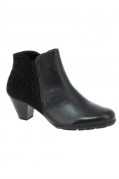 bottines ville gabor 75.641-27 noir