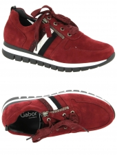 chaussures plates gabor 56.435-38 h rouge