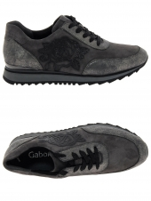 chaussures plates gabor 74.321-20 gris