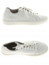 chaussures plates gabor 86.434-50 g blanc