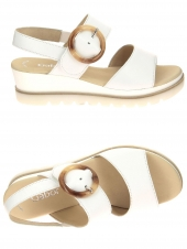 nu-pieds style casual gabor 44.645-21 blanc