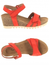 nu-pieds style casual gabor 45.661-15 rouge
