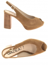 nu-pieds elegants gadea by lodi val1104 marron