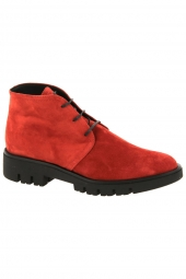 bottines casual gaimo 194-3-5a rouge