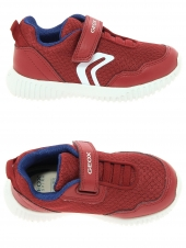 chaussures basses geox b822bb-014bu-c7213 rouge