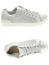 chaussures basses geox j924mc 0ewnf c1007 argent