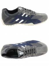 chaussures de style casual geox u4207k 02214 c0665 gris