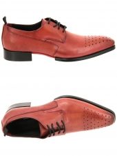 derbies gianni emporio garda-c8 rouge