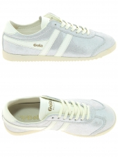 baskets mode gola bullet glitter blanc