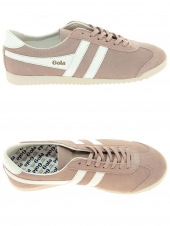 baskets mode gola bullet suede rose