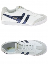 baskets mode gola harrier blanc