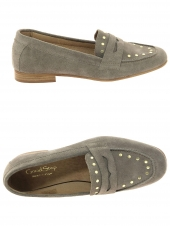 mocassins goodstep 9210 a31 taupe